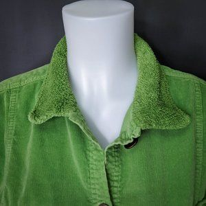 Fresh Produce Jackets & Coats - Fresh Produce Womens Jacket Medium Apple Green